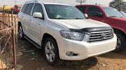Toyota Highlander 2010 Limited White | Cars for sale in Lagos State, Ojodu