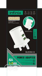 3 In 1 Usb Port Infinix Double Fast Charger   Accessories for Mobile Phones & Tablets for sale in Lagos State, Ojo