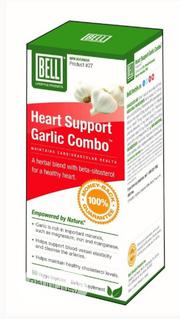 Heart Support Garlic Combo - For Maintaining Cardiovascular Health.   Vitamins & Supplements for sale in Lagos State, Ikeja