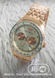 Emporio Armani Rose Gold | Watches for sale in Lagos State, Ikeja