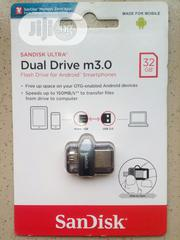 32gb Original Sandisk OTG Flash Drive 3.0 Speed For Computer And Phone | Computer Accessories  for sale in Lagos State, Oshodi-Isolo