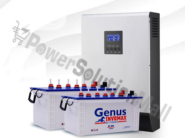 3.5kva Inverter With 2 X 200AH Battery