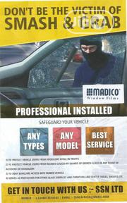 Anti Shatter Windscreen Protection | Vehicle Parts & Accessories for sale in Lagos State, Ikoyi