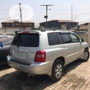 Toyota Highlander 2004 Silver | Cars for sale in Lagos State, Ilupeju
