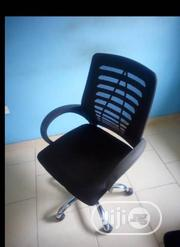 Quality Superior Mesh Office Chair Stainless Star Leg | Furniture for sale in Lagos State, Ajah