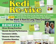 Revive for Men to Keep Wife | Sexual Wellness for sale in Lagos State, Ikeja