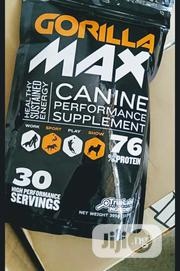 Gorilla Max High Performance Muscle Builder Supplement For Dog Puppy | Pet's Accessories for sale in Lagos State, Agege