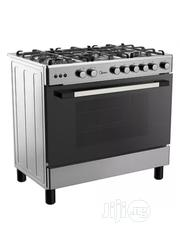 Midea 5 Gas Burners Gas Cooker( 90 X 60 ) 36LMG5G028- Silver | Restaurant & Catering Equipment for sale in Abuja (FCT) State, Asokoro