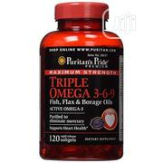 Puritan'S Pride Triple Omega 3-6-9 Fish Oils (Maximum Strength) | Vitamins & Supplements for sale in Lagos State, Amuwo-Odofin
