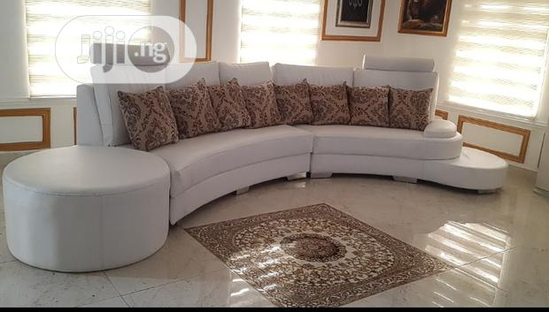 Curved Living Room Sofa