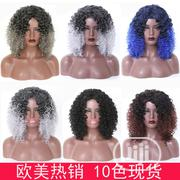Short Curly Soft Human Hair Wigs | Hair Beauty for sale in Lagos State, Victoria Island