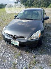Honda Accord 2005 Sedan EX Automatic Blue | Cars for sale in Edo State, Okada