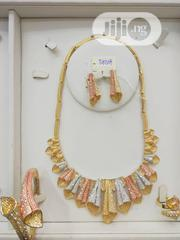 Fls Set Three Tone And Flowery Design | Jewelry for sale in Lagos State, Lagos Island