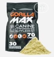 Gorilla Max High Performance Muscle Builder Supplement For Dog Puppy | Pet's Accessories for sale in Lagos State, Amuwo-Odofin