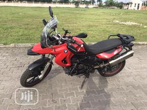 BMW F 650 GS 2011 Red