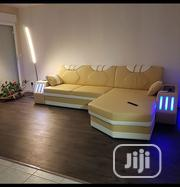 L Shape Sofa With LED Lights | Furniture for sale in Lagos State, Lagos Island