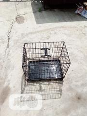 Used Folding Metal Pet Cage Kennel With Tray | Pet's Accessories for sale in Lagos State, Alimosho