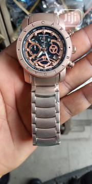 Bvlgaria Rose Gold Wrist Watch | Watches for sale in Lagos State, Surulere