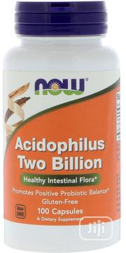 NOW Acidophilus, 2 Billion, Dairy, Soy, Gluten Free, 100 Veg Capsules   Vitamins & Supplements for sale in Lagos State, Lekki Phase 1