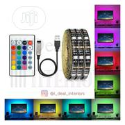 16 Colours LED Strip Light / TV Background Light / Decor Lighting | Accessories & Supplies for Electronics for sale in Lagos State, Yaba