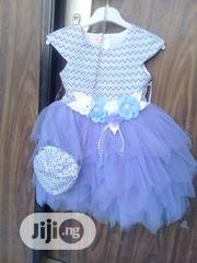 Turkey Dress With Flower Design Handbag | Children's Clothing for sale in Abuja (FCT) State, Wuse