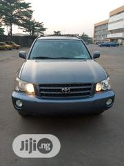 Toyota Highlander 2002 Blue | Cars for sale in Lagos State, Surulere
