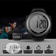 Ezon Watch+Heart Rate Monitor | Sports Equipment for sale in Ogun State, Sagamu