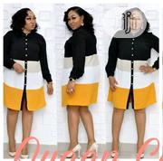 Latest Queen Fashion Ladies Shirt Dress Cocktail Party PLUS Wears | Clothing for sale in Lagos State, Lagos Mainland