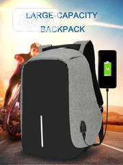ORIGINAL Anti-Theft Laptop Travel Backpack Large Capacity USB Bags | Computer Accessories  for sale in Lagos State, Lagos Mainland