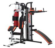 Three Station Home Gym With Boxing Bag and Sit-Up Bench | Sports Equipment for sale in Abuja (FCT) State, Gwagwalada