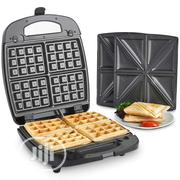 3-in-1 SANDWICH MAKER- (Sandwich,Grill,Waffle Plates) | Kitchen Appliances for sale in Lagos State, Surulere