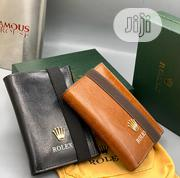 Rolex Leather Wallet For Men's Black | Bags for sale in Lagos State, Lagos Island