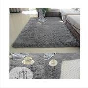 Centre Rug-luxurous Grey Shaggy Rug | Home Accessories for sale in Lagos State, Victoria Island
