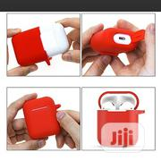 Silicone Anti-lost Protective Cover Skin Case For Apple Airpods With E | Headphones for sale in Lagos State, Ikeja