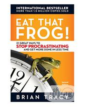 Eat That Frog!: 21 Great Ways To Stop Procrastinating | Books & Games for sale in Lagos State, Mushin