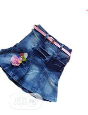 Girls Jean Skirt | Children's Clothing for sale in Lagos State, Isolo
