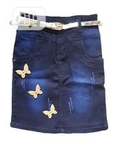 Girls Skirt Jean For All Occasion | Children's Clothing for sale in Lagos State, Isolo