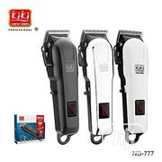 New Gain Rechargeable Hair Clipper Cord/Cordless Clipper | Salon Equipment for sale in Lagos State, Lagos Island