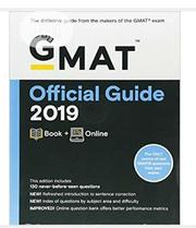 GMAT Official Guide 2019: Book + Online 3rd Edition | Books & Games for sale in Lagos State, Mushin