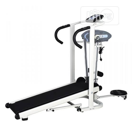 Holloway Manual Treadmill With Massager and Twister