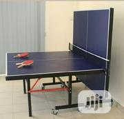 Standard Outdoor Waterproof Table Tennis Board With Bats and Balls | Sports Equipment for sale in Abuja (FCT) State, Maitama