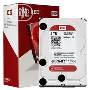 WD Red 4TB NAS Hard Disk Drive - 5400 RPM Class SATA 6 Gb/S 64MB Cache | Computer Hardware for sale in Lagos State, Ikeja