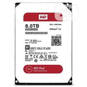 "WD 8tb Red 3.5"" Internal Nas Hdd, 5400 Rpm, Sata 6gb/S 