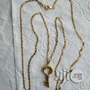 ITALY 750 Tested Gold Blade Tiny Wit Key Pendant   Jewelry for sale in Lagos State, Lagos Island