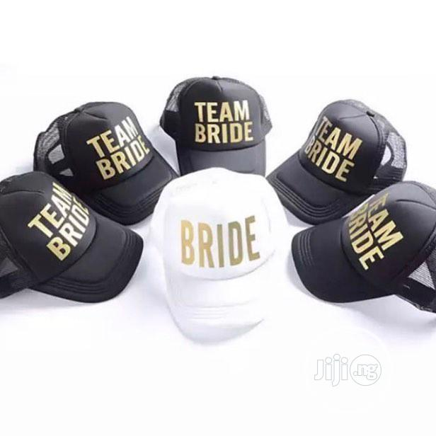 Customized Cap For Brides And Maid (Bulk Purchase)