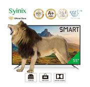 "Syinix 55"" Smart Android 4K LED TV + Free Wall Bracket 