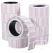 5000 (10 Rolls )Price Label Tags/Sticker For Price Gun | Stationery for sale in Lagos State, Lagos Island