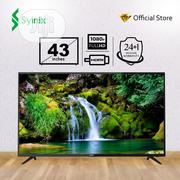"Syinix 43"" Inch HD LED TV Plus Free Wall Hanger 