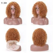 Short Curly Wave Light Brown Wigs | Hair Beauty for sale in Lagos State, Ikeja