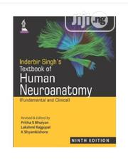 Inderbir Singh's Textbook of Human Neuroanato | Books & Games for sale in Lagos State, Mushin